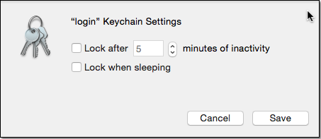 how to change the keychain paasword when you forget